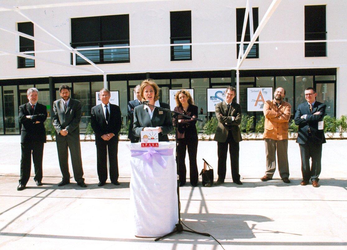 Inauguració del les noves instal·lacions del Centre Ocupacional l'Àngel