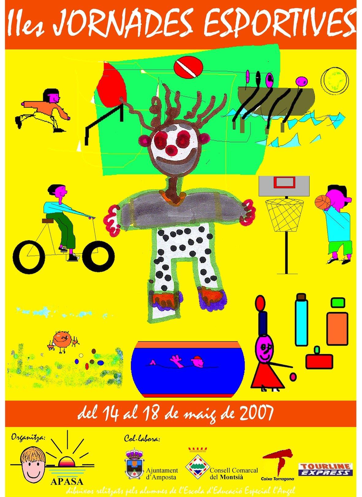 Cartell Jornades Esportives 2007