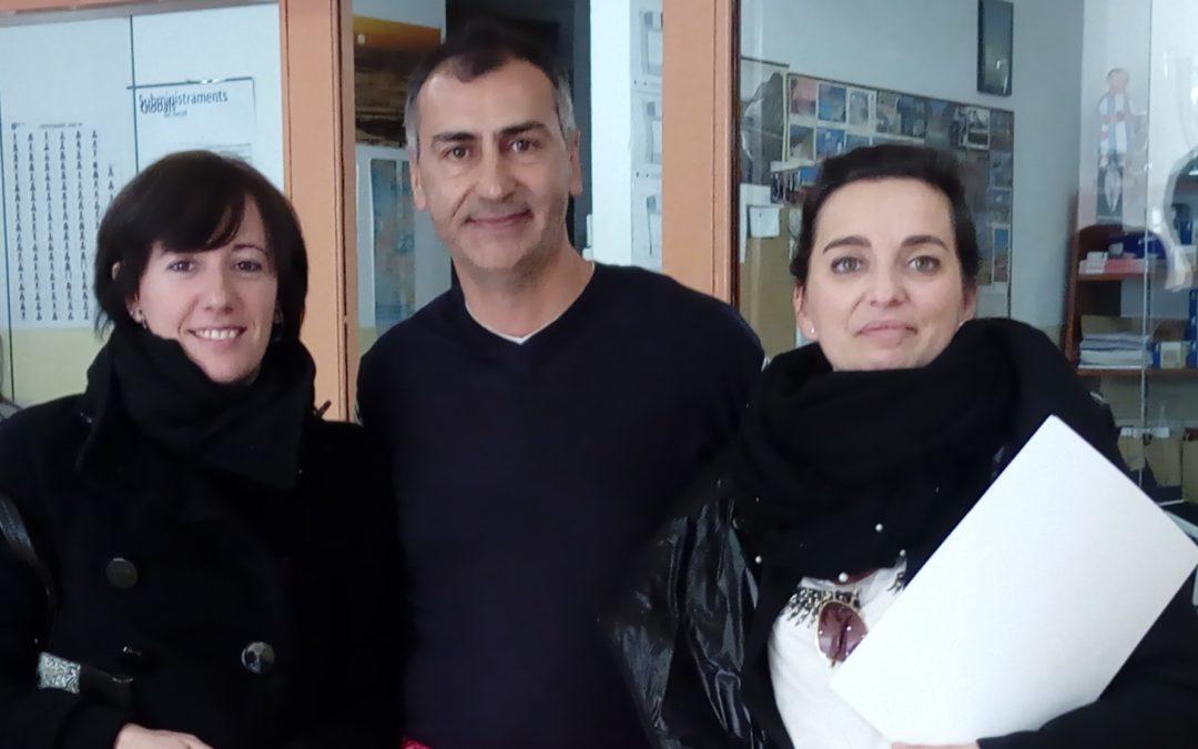Xerrada a l'alumnat del Grau d'Integració Social de l'IES de l'Ebre