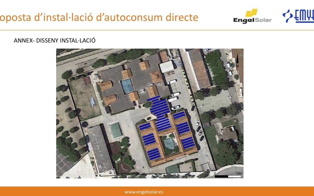 Planta Solar Fotovoltaica. Inici dels Treballs