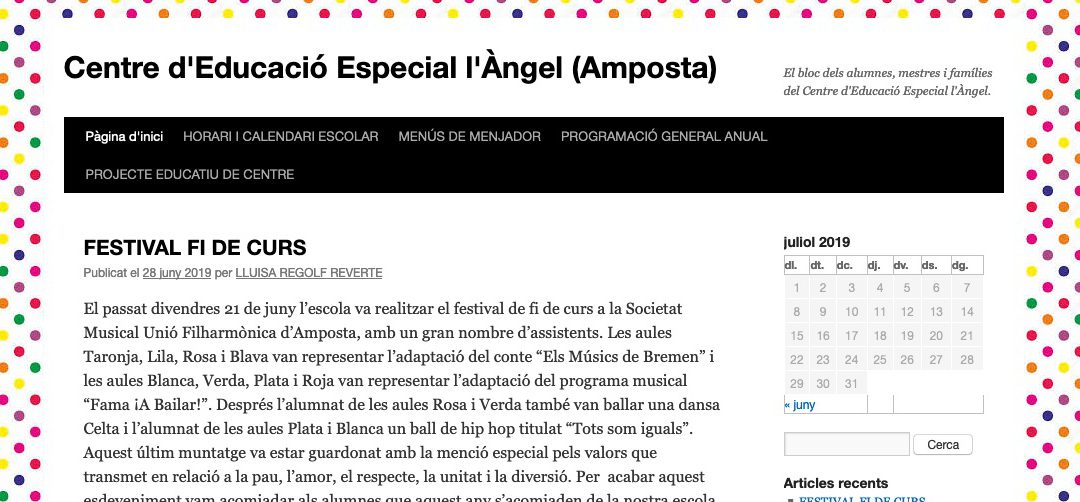 Notícies al blog del CEE l'Àngel