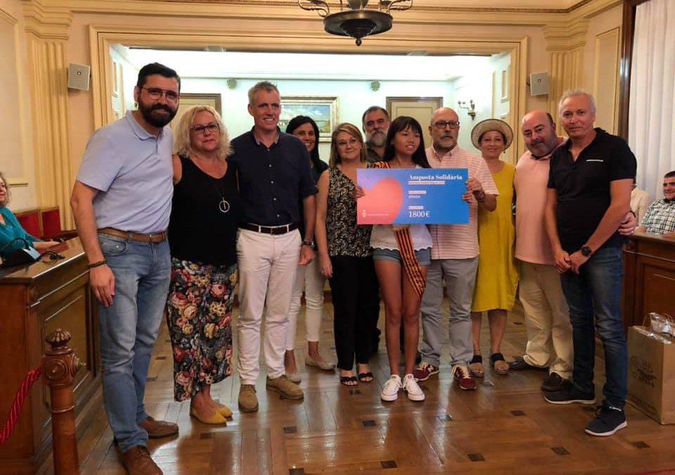 S'entreguen més de 6.000€ a Entitats Socials del Territori