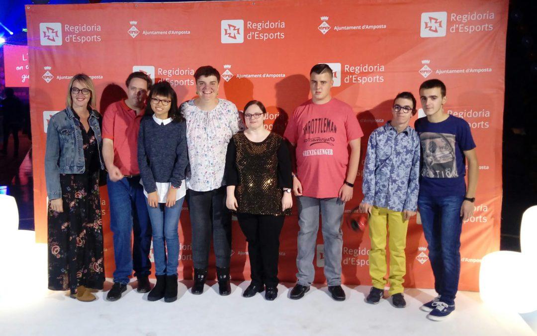 El Club Esportiu l'Àngel – Apasa a la Gala de l'Esport Ampostí 2019