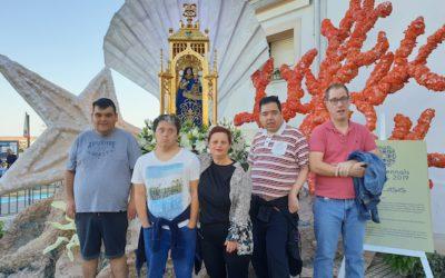 Lllars i Unitat d'Envelliment d'Apasa visiten les Festes Quinquennals d'Alcanar