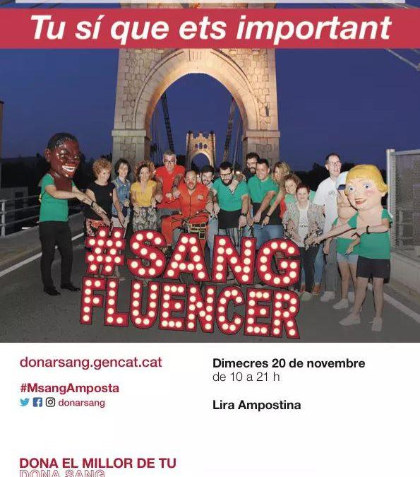 Apasa Col·labora en la Marató de Donació de Sang d'Amposta 2019