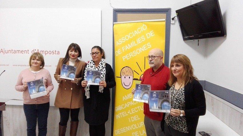 """Presentació de la Campanya """"Nadal Solidari"""" en favor d'Apasa"""