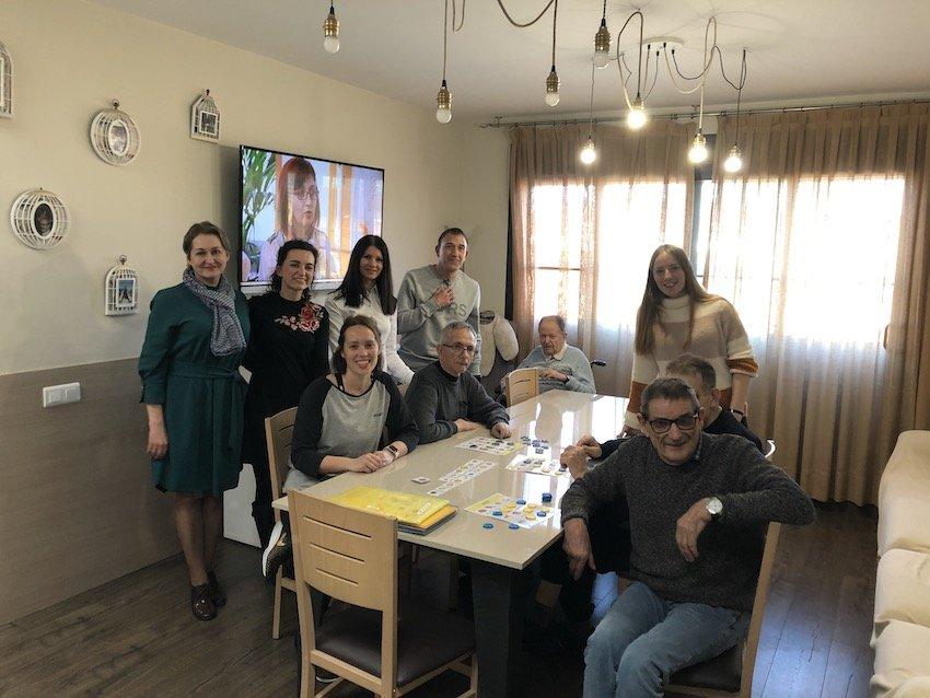 "APASA Rep la Visita del Centre  ""Bi Valakampiu Socialiniu Paslaugu Namai"""