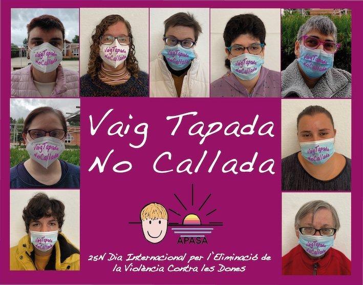 #ApasaTotAniràBé – Dia Internacional per a l'Eliminació de la Violència de Gènere