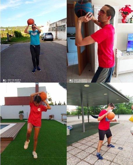 #ApasaTotAniràBé – Esportistes del Nostre Club a la Pau Gasol Specials Olympics Virtual Academy by Santander