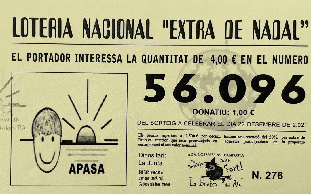 #ApasaTotAniràBé – Ja a la Venda en línia de la Nostra Loteria de Nadal